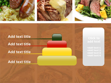 Cooked Food PowerPoint Template Slide 8