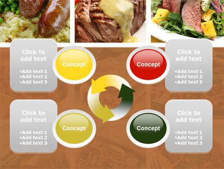 Cooked Food PowerPoint Template Slide 9
