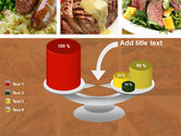 Cooked Food PowerPoint Template#10