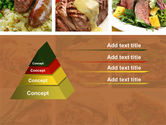 Cooked Food PowerPoint Template#12