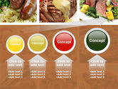 Cooked Food PowerPoint Template#13
