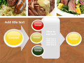 Cooked Food PowerPoint Template#17