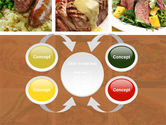 Cooked Food PowerPoint Template#6