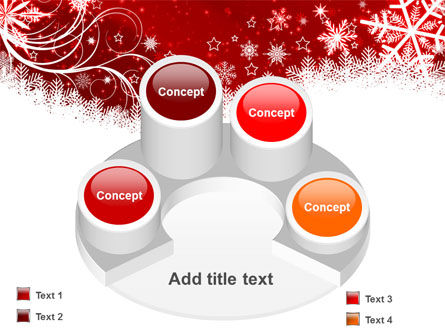 Snowflake Blizzard PowerPoint Template Slide 12