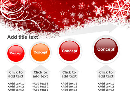 Snowflake Blizzard PowerPoint Template Slide 13