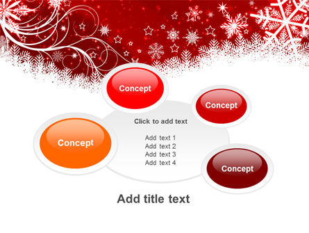 Snowflake Blizzard PowerPoint Template Slide 16