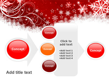 Snowflake Blizzard PowerPoint Template Slide 17