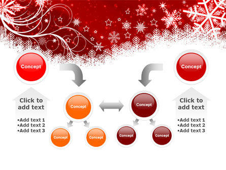 Snowflake Blizzard PowerPoint Template Slide 19