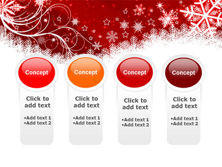 Snowflake Blizzard PowerPoint Template Slide 5