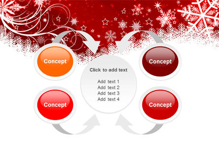 Snowflake Blizzard PowerPoint Template Slide 6