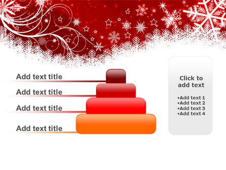 Snowflake Blizzard PowerPoint Template Slide 8