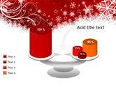 Snowflake Blizzard PowerPoint Template#10