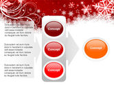 Snowflake Blizzard PowerPoint Template#11