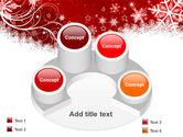 Snowflake Blizzard PowerPoint Template#12