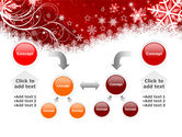 Snowflake Blizzard PowerPoint Template#19
