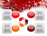 Snowflake Blizzard PowerPoint Template#9