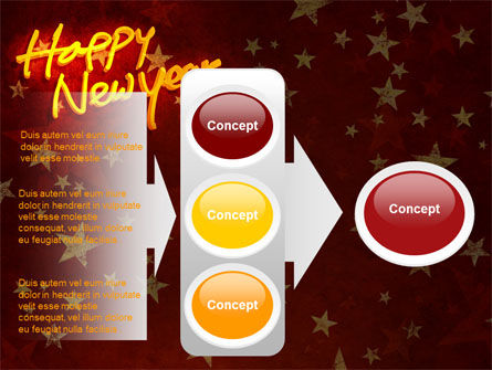 Happy New Year Theme PowerPoint Template Slide 11