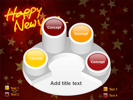 Happy New Year Theme PowerPoint Template Slide 12