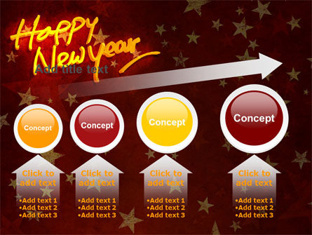 Happy New Year Theme PowerPoint Template Slide 13