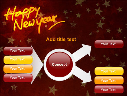 Happy New Year Theme PowerPoint Template Slide 14