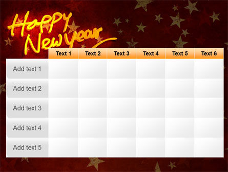 Happy New Year Theme PowerPoint Template Slide 15