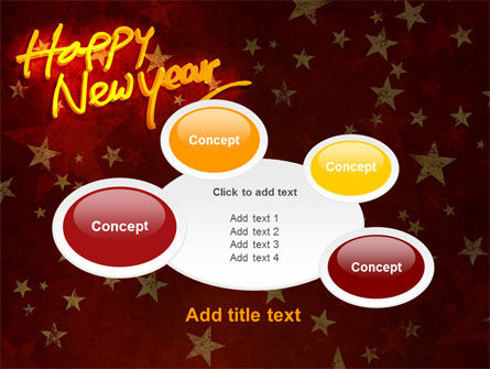 Happy New Year Theme PowerPoint Template Slide 16