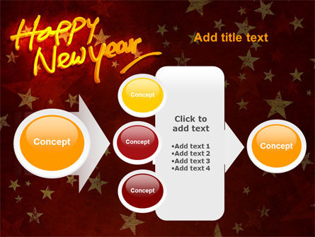Happy New Year Theme PowerPoint Template Slide 17