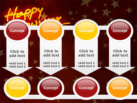 Happy New Year Theme PowerPoint Template Slide 18
