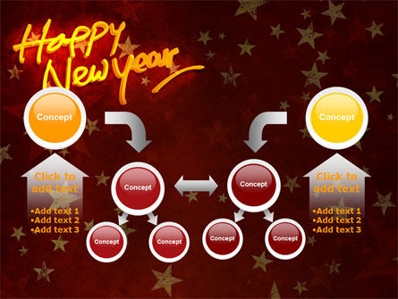 Happy New Year Theme PowerPoint Template Slide 19