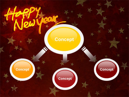 Happy New Year Theme PowerPoint Template Slide 4