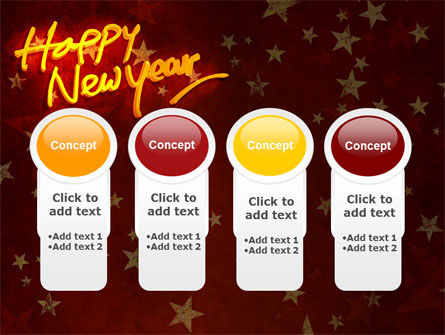 Happy New Year Theme PowerPoint Template Slide 5
