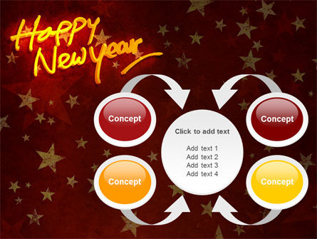 Happy New Year Theme PowerPoint Template Slide 6