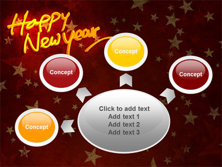 Happy New Year Theme PowerPoint Template Slide 7