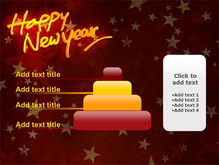 Happy New Year Theme PowerPoint Template Slide 8