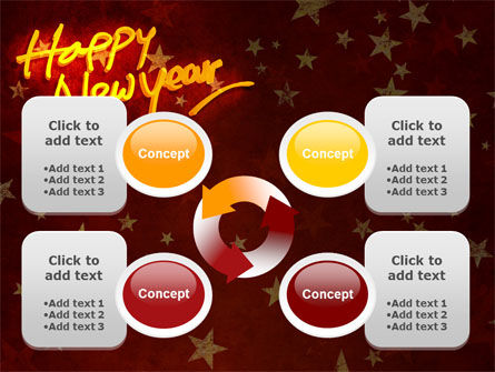 Happy New Year Theme PowerPoint Template Slide 9