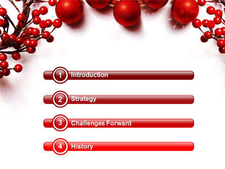 Rowanberry PowerPoint Template, Slide 3, 08966, Holiday/Special Occasion — PoweredTemplate.com
