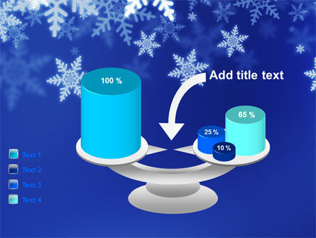 Snowflakes Night PowerPoint Template Slide 10