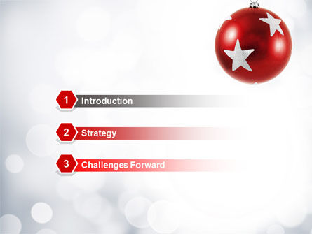 Christmassy PowerPoint Template Slide 3