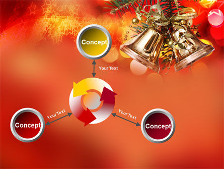Bells On Christmas Tree PowerPoint Template Slide 12