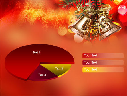 Bells On Christmas Tree PowerPoint Template Slide 14