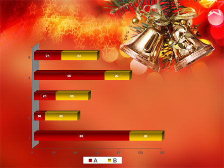 Bells On Christmas Tree PowerPoint Template Slide 17