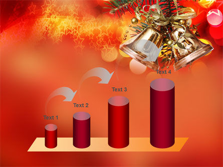 Bells On Christmas Tree PowerPoint Template Slide 7