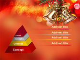 Bells On Christmas Tree PowerPoint Template#10