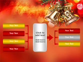 Bells On Christmas Tree PowerPoint Template#16