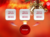 Bells On Christmas Tree PowerPoint Template#4