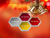 Bells On Christmas Tree PowerPoint Template#5
