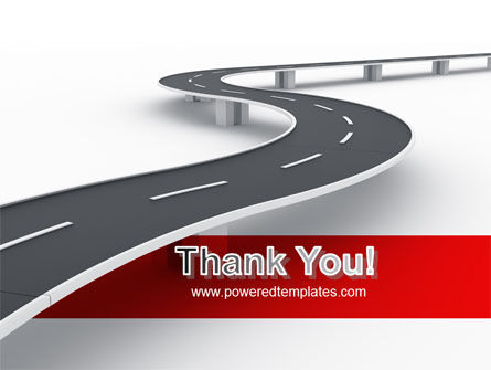 Road Overpass PowerPoint Template Slide 20