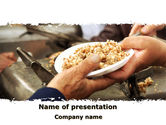 Religious/Spiritual: Charitable Food PowerPoint Template #08971
