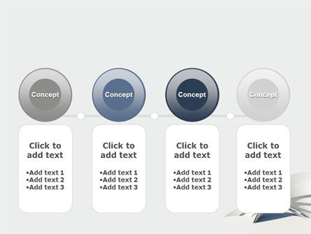 Gray Arch PowerPoint Template Slide 5