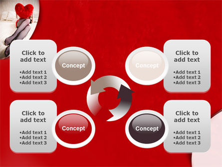 Lady with Heart PowerPoint Template Slide 9